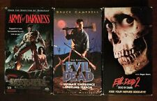 Evil Dead Trilogy Vhs Army Of Darkness Horror Raimi Campbell