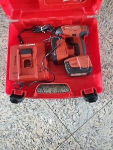 Hilti SIW 144-A Akkuschlagschrauber + Ladegerät + 2 x Akku 2,6 Ah + Koffer
