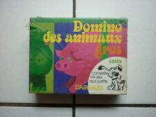 UDERZO /   ASTERIX  /  JEUX  DARGAUX   IDEFIX  / DOMINO DES ANIMAIX GROS  1974