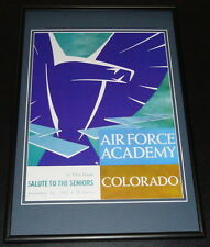 1963 Air Force vs Colorado Football Framed 10x14 Poster Official Repro