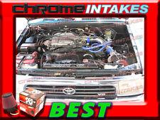 K&N+BLUE RED COLD AIR INTAKE KIT FOR 88-95 TOYOTA PICKUP/4RUNNER 3.0 3.0L V6