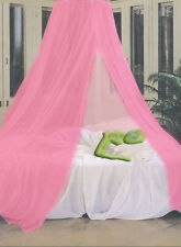 Pink Mosquito Canopy Net 10 x 2.5 Meters Fit Single Double King Queen Size Bed
