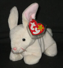 TY NIBBLER the RABBIT BEANIE BABY - MINT