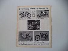 advertising Pubblicità 1967 MOTO MULLER MT SA 50/ST CROSS/CADETTI 60/CROSS 250