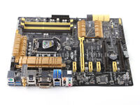 ASUS Z87 Motherboard Z87-PRO LGA 1150 DDR3 HDMI SATA 6Gb/s USB 3.0 With I/O
