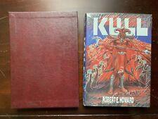 KULL - Robert E. Howard - HC SIGNED LIMITED ED 1st Print Slipcase - Donald Grant