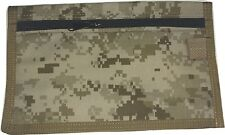 USMC Tactical Document  Map Holder Military Pouch made in USA MARPAT Desert Camo