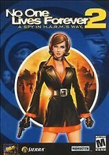 No One Lives Forever 2: A Spy in H.A.R.M.'s Way (PC, 2002) Jewel Case