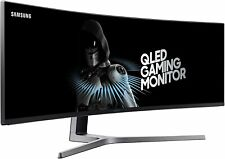 "Samsung CHG90 - 49"" QLED  144Hz AMD FreeSync HDR Curved Gaming Monitor"