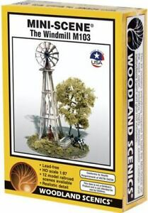NEW Woodland HO Train Scenery The Windmill Kit M103