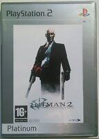 HITMAN 2: SILENT ASSASSIN - PS2 Sony PlayStation 2 PAL UK (SLES 50992)