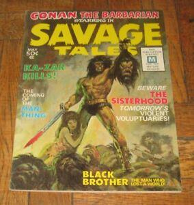 SAVAGE TALES  VOL. 1 NO. 1  MAY 1971  MAGAZINE MANAGEMENT