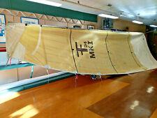 Corsair F24  Mainsail Gold Technora Mylar 28.5 Luff, 30' Leech, 10' Foot