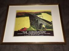 "LNER ""the Coronation"" Framed Travel Print"