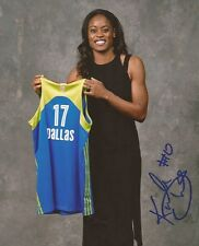 Kaela Davis signed Dallas Wings 8x10 photo autographed South Carolina 2