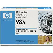HP 92298A 98A Genuine NEW Toner Cartridge