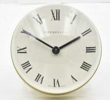 Tiffany & Co Lucite Ball Table Clock. 8 day Swiss Imhof 15 Jewel  movement