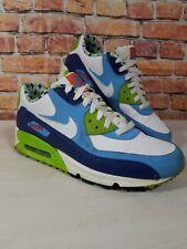 Nike Air Max 90 Lacrosse Blue Green Men's Size 7 325018-134 Swoosh Gym Shoe RARE