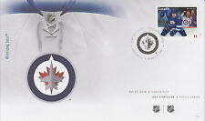 CANADA #2675 63¢ NHL TEAM JERSEYS - WINNIPEG JETS FIRST DAY COVER