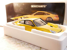 MINICHAMPS PORSCHE 911 GT3 RSR ALMS 2004 YELLOW ART. 100046401    1:18 NEW