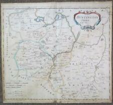 1695 Map of Huntington Shire (Huntingdoneshire) by Robert Morden