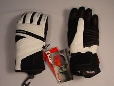 New Reusch Mirage Ski Snow Board Leather Wool Gloves Womens Small 7 #4031140