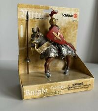 Schleich Knight With Lance On Horse 70017 Mounted New
