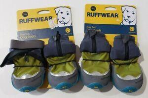 "Ruffwear Polar Trex Winter Dog Boots Set of 4 in Forest Green Size 2.5"" NEW"