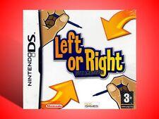 LEFT OR RIGHT TUTTI AMBIDESTRI  X MODELLI NINTENDO DS - 2DS E 3DS  NUOVO!