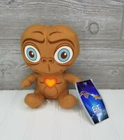 "New ET Extra Terrestrial Big Head Plush 2018 Toy Factory 6.5"" Stuffed Animal NWT"