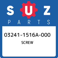 03241-1516A-000 Suzuki Screw 032411516A000, New Genuine OEM Part