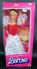 Vintage 1983 LOVING YOU Barbie Doll #7072 ~ Heart Dress