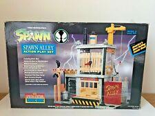 NIB Todd McFarlane's Spawn Alley Action Play Set Todd Toys!!