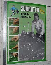 CATALOGUE SUBBUTEO DELACOSTE 1973 FOOTBALL RUGBY ACCESSOIRES RAYMOND KOPA