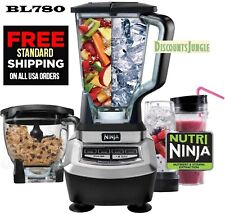 Ninja Bl780 Supra 1200 Watt Food Processor and Kitchen Blender System bl770