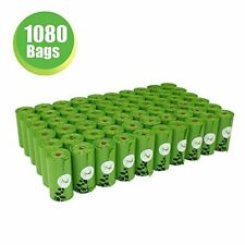 New listing Pet Poop Bags Earth-Friendly 1080 Counts 60 Rolls Large Unscented Dog Waste