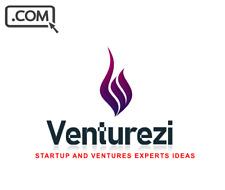 Venturezi.com - Brandable Premium Domain Name - Venture Startup Domain Name