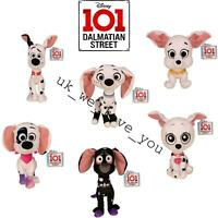 "DISNEY 101 DALMATIAN STREET DOG 10"" SOFT PLUSH STUFFED TOY DOLLY DYLAN DANTE"