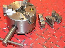 "HBM NEW  4"" 3 JAW LATHE CHUCK COMPATIBLE  MYFORD ML7 SUPER 7 ENGINEERS LATHE"