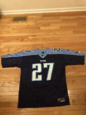 Eddie George Tennessee Titans NFL Vintage Nike Team Jersey Men's Size XL