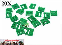 20X Lego® 48336 Platten mit Halter / Griff 1X2 Grün Green NEU