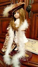 "15"" Porcelain Doll Wimbledon Collection Grandma'S Attic Gretchen Wolf Le Mint"