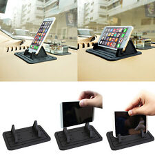 Car Interior Non-Slip Silicon Pad Mount Holder Cradle for GPS Cell Phone ipad