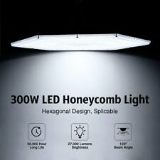 300W LED High Bay Light Factory Commercial Warehouse Gym Workshop Shop Lighting