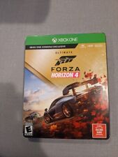 Forza Horizon 4 Xbox One Ultimate Edition Steelbook New and Sealed