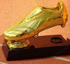 Goldener Fußballschuh 2018 ~ aus Metallguß vergoldet~Fußball TROPHÄE~FIGUR~WM