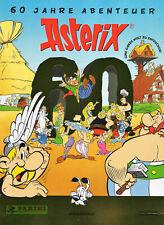 PANINI 60 Jahre Abenteuer Asterix Sticker Auswahl 5 Stück Sticker