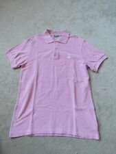 Boy's Benetton Polo Shirt in Pink Size 3XL - Age 13-14 - Freshly laundered