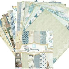 "6"" Retro Paper Scrapbooking Background Card Gift Box Making Journal Project DIY"