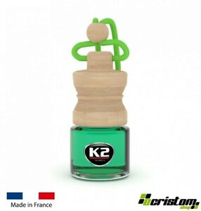 K2 Caro Apple HOME AIR FRESHENER FRAGRANCE PERFUME HANGING GLASS BOTTLE 4ml